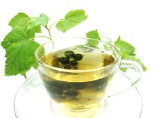 Free Herbal Tea With Currant Extract Stock Images - 16654204