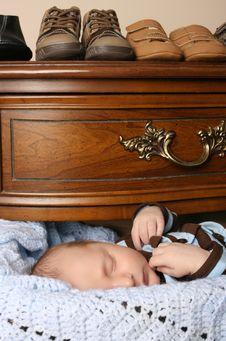 Free Sleeping Baby Stock Photos - 16654893