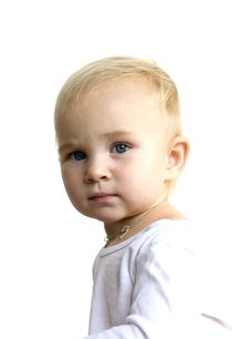 Free Baby S Portrait Royalty Free Stock Photo - 16654915