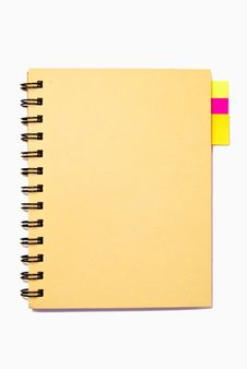 Free Small Notebook Isolated Royalty Free Stock Photo - 16655745