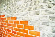Free Old Brick Wall Cracked Abstract Background Royalty Free Stock Image - 16655896