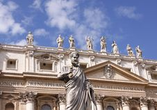 Free St Peters Basilica Stock Images - 16656164
