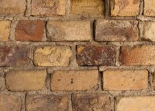 Free Old Brick Wall Stock Image - 16656811