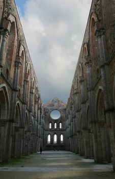 Free San Galgano Abbey Stock Images - 16656834