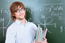 Positive Student Royalty Free Stock Images