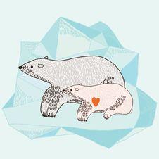 Free Polar Bear Royalty Free Stock Photo - 16657095