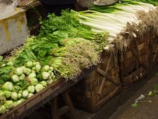 Free A Chinese Farmer S Market Stock Images - 16657134