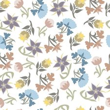 Free Colorful Seamless Pattern Royalty Free Stock Images - 16657169