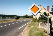 Free Thoroughfare Sign Royalty Free Stock Photo - 16657435