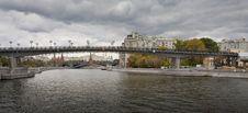 Bridge Through Moscow-river Stock Photography