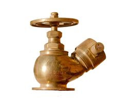 Brass Fire Hydrant Royalty Free Stock Photography