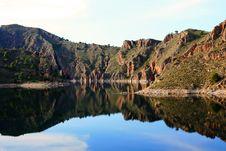 Cenajo Dam, Spain Stock Images
