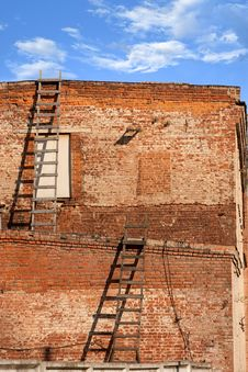 Free The Building Of Brick Royalty Free Stock Images - 16658879