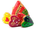 Free Cookies - Bell And Hearts Stock Photography - 16667012