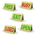 Free Exit Royalty Free Stock Images - 16667049