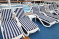 Free Beach Chairs By The Pool Stock Photography - 16668082