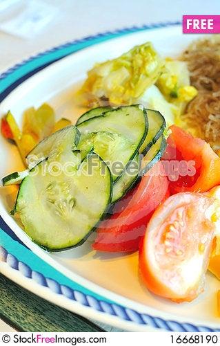 Free Closeup Of Healthy Salad Stock Photo - 16668190