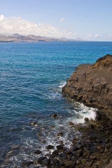Free Gran Canaria Sea Royalty Free Stock Images - 16660219