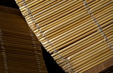 Free Bamboo Blinds Royalty Free Stock Photography - 16660327