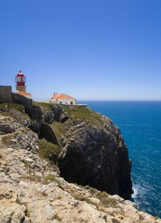 Free Cape Saint Vincents Lighthouse, Sagres Stock Image - 16660531
