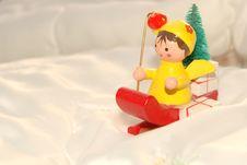 Free Santa S Little Christmas Helper Stock Images - 16660684