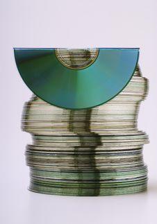 CDs Royalty Free Stock Photo