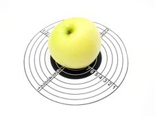 Target And Apple Royalty Free Stock Photos