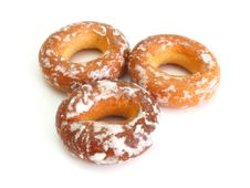 Plain Bagel Stock Image