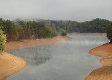 Free Lake Fontana In The Great Smokey Mountains Stock Photo - 16662820