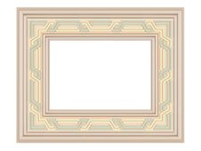 Free Wooden Ornamented Picture Frame Isolated Stock Photography - 16665192