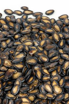 Free Black Melon Seeds Stock Photo - 16665340