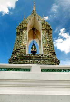 Free Belltower In Wat Pho Royalty Free Stock Photos - 16665468
