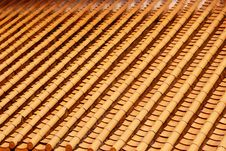 Free Yellow Roof Glazed Tiles Royalty Free Stock Image - 16665496