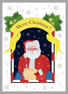 Free Christmas Card Royalty Free Stock Images - 16665589
