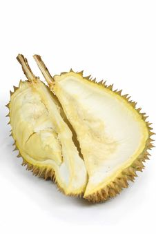 Free Half Of The Durian Royalty Free Stock Images - 16666079