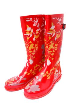 Free Women S Rubber Boots Royalty Free Stock Image - 16666366
