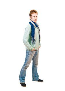 Free Young Man Stock Photos - 16667023