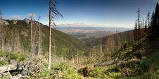 Free Mountain Panorama Royalty Free Stock Image - 16667416