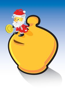 Santa Claus Money Box