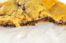 Free Half Eaten Chocolate Cookie Stock Photography - 16668022