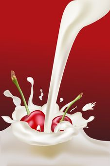 Milk Cs 2 Royalty Free Stock Photos