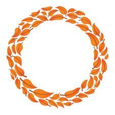 Free Leaf Circle Stock Image - 16668991