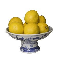 Free Bowl Of Lemons Stock Image - 16669091