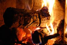 Free Fireplace Royalty Free Stock Images - 16669649