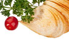 Free Potato Chips Royalty Free Stock Photography - 16669827