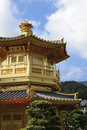Free Golden Pavilion In Chinese Garden Royalty Free Stock Photography - 16674497
