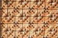 Free Asian Style Art Brick Wall Pattern Stock Photos - 16677843