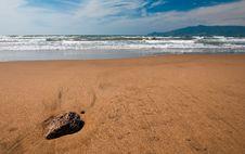 Free Beach In Tuscany Royalty Free Stock Photos - 16670048