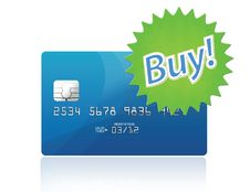 Credit Card Icon Stock Photo