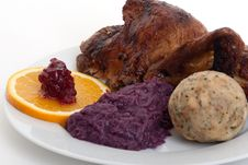 Free Roasted Duck Stock Photography - 16671332